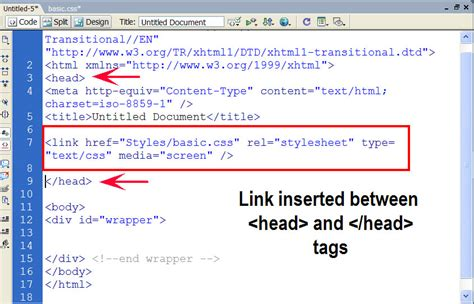 Linking Style Sheets to HTML | HostOnNet