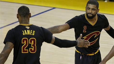 LeBron, Kyrie shred Draymond-less Warriors in Cavs' Game 5