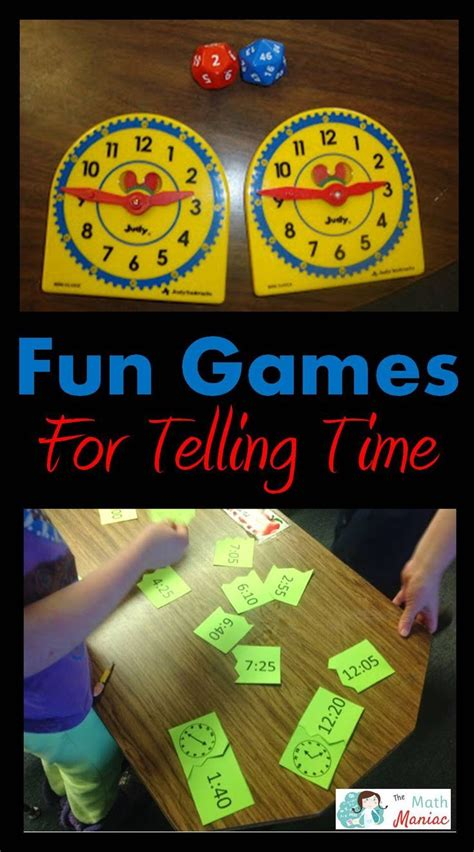 Common Core Standards for telling time and a fun game to