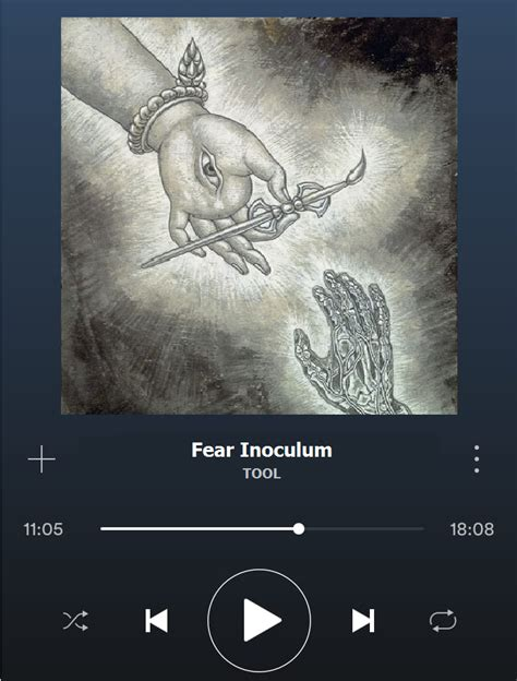 Damn! This part of Fear Inoculum (11:05) always give me