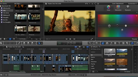 6 Effects Final Cut Pro X Users Can Use in Their Daily