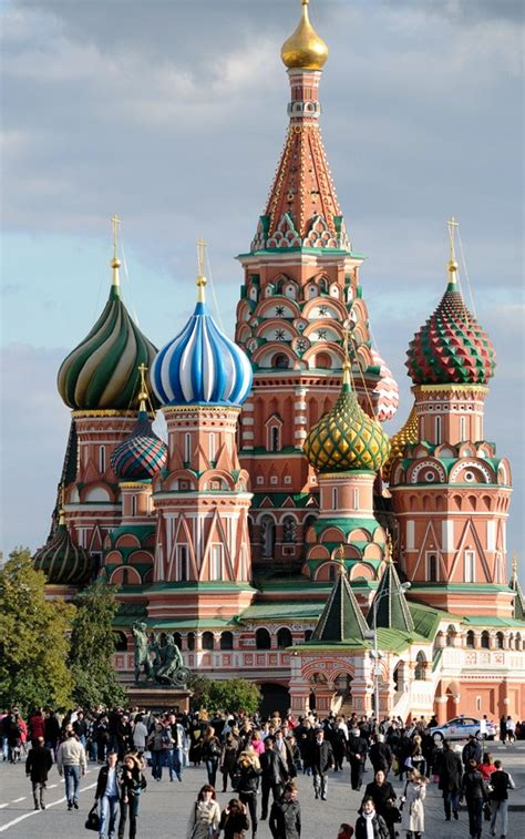 Explore Russia: Moscow-The City With Amazing Architecture