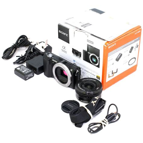 [USED] Sony Alpha a5000 Mirrorless Digital Camera with 16