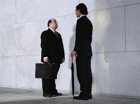 Short people have a 50 per cent higher chance of having