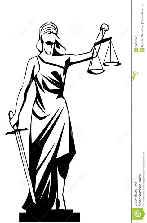Lady Justice Stock Photo - Image: 34050980