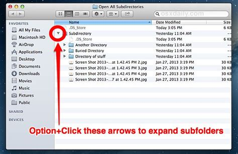 How to List All Files and Subdirectory Contents in a