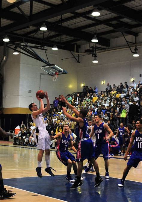 Peddie School boys' basketball comes up short of title