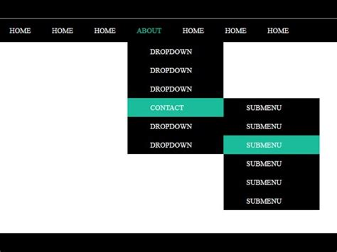 How to make a dropdown menu using html, Css, and Jquery