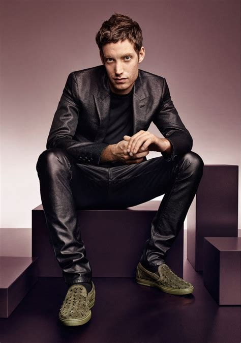 James Jagger for Jimmy Choo Fall Winter 2016