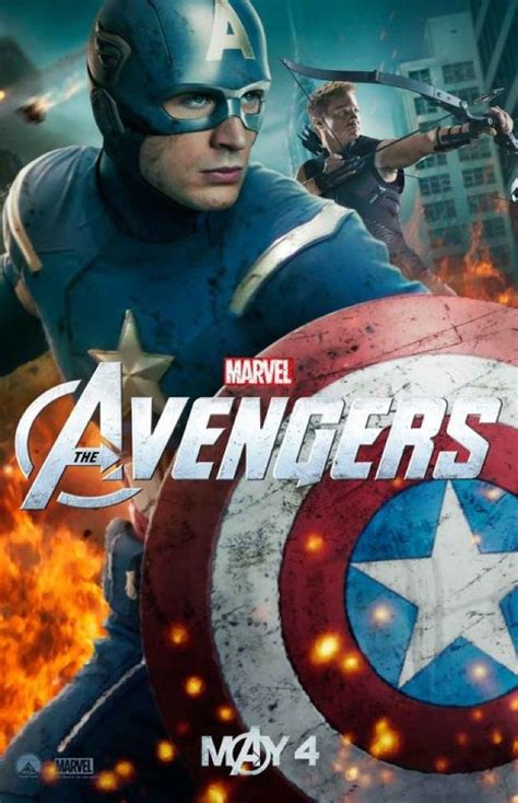 Everyone Assembles In New Character Posters For 'The Avengers'