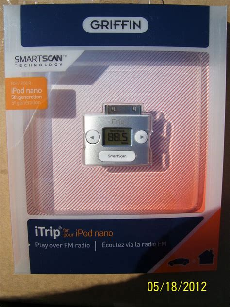 Griffin iTrip Wireless FM Transmitter for iPod Nano