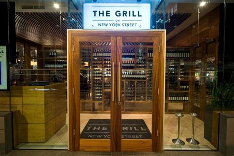 The Grill on New York Street Central Manchester Restaurant