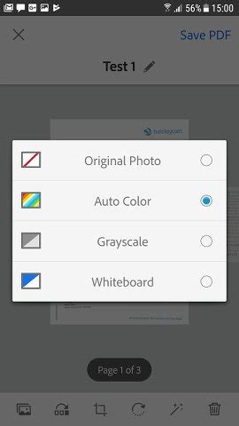 Adobe Scan turns documents into editable files using your