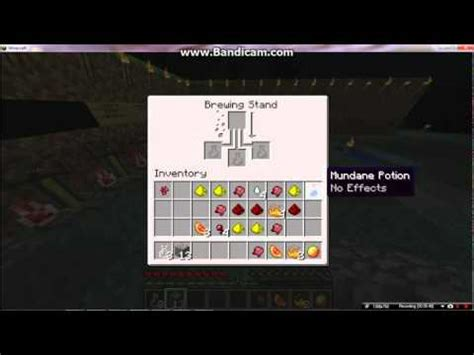 How To Make All Potions In Minecraft 1