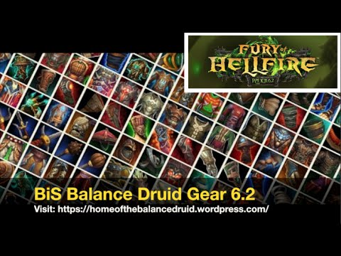 Druid BiS : Best gear for PvE in Classic WoW (Best in slot)