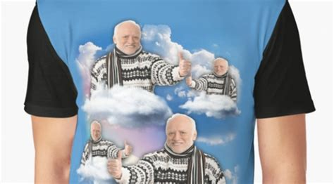 You Can Now Get Hide The Pain Harold Merch | TOTUM