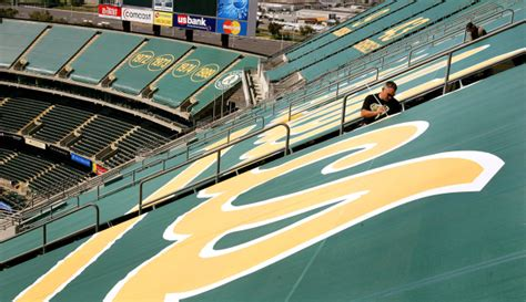 A's tear down Oakland Coliseum tarps; 5 suggestions what